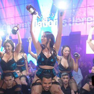 light nightclub cocktail bottle service