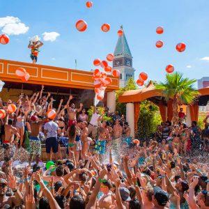 tao beach pool party dance floor